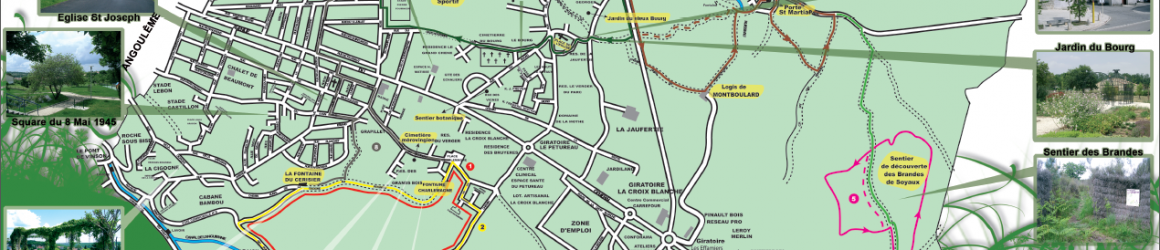 Carte des randonnées