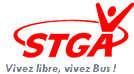 logo rouge bus STGA