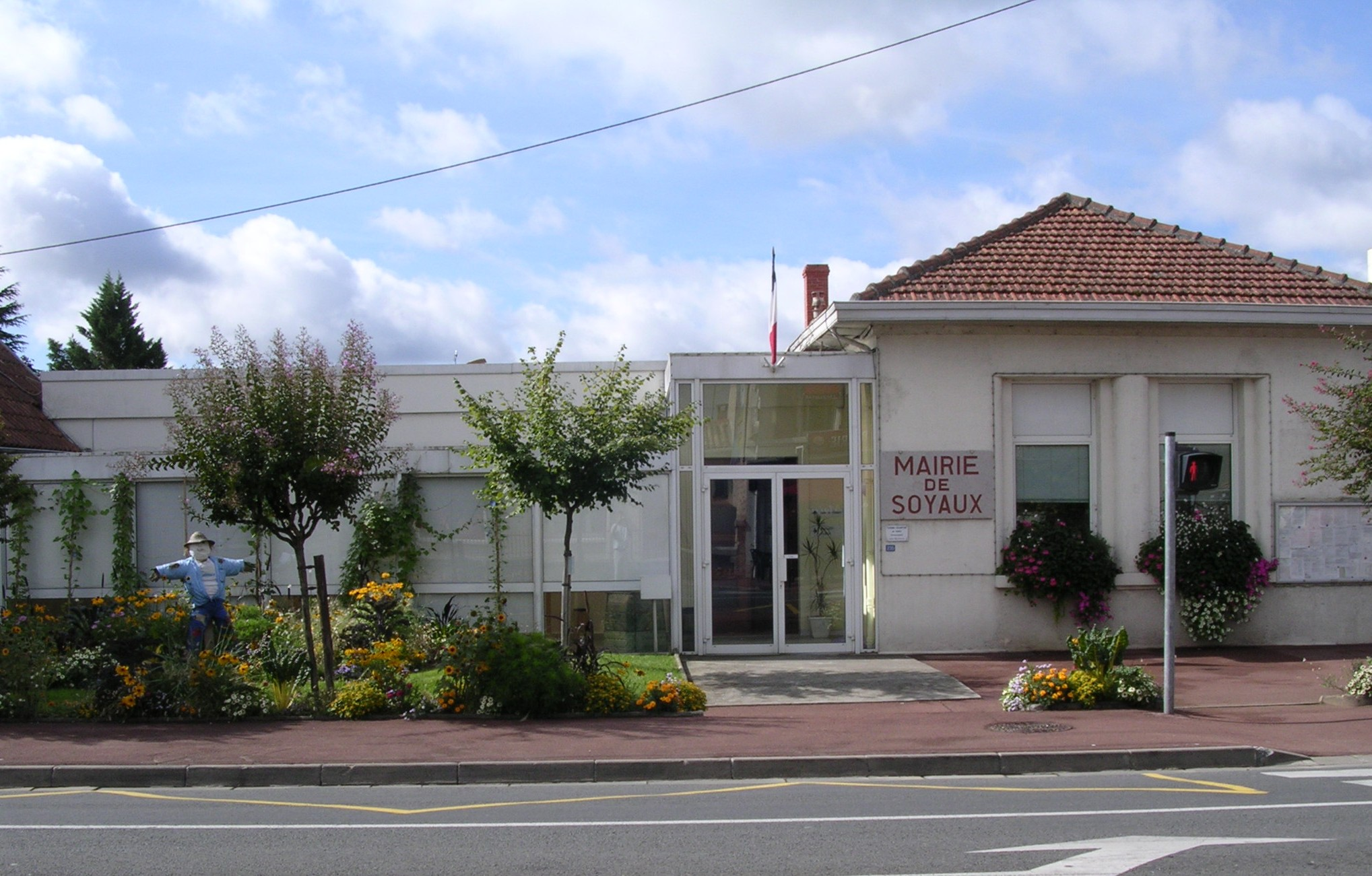 mairie de Soyaux en 2005