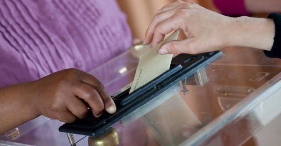 élections, vote, urne