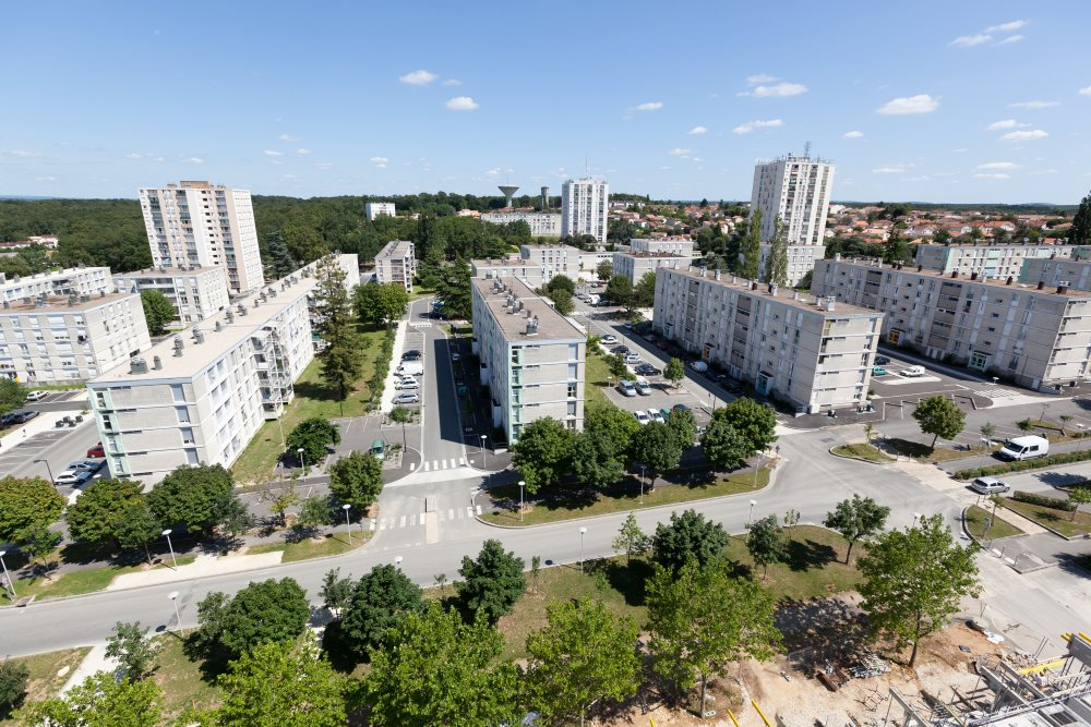 quartier du Champ de Manoeuvre, HLM,