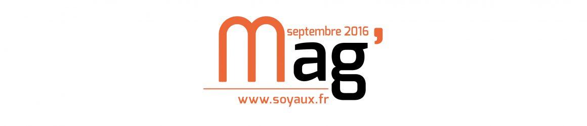 Soyaux Mag' septembre 2016