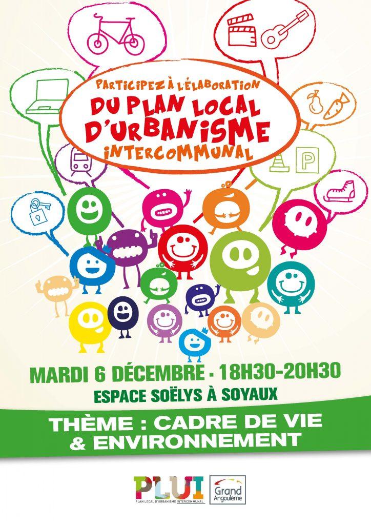 plan local d'urbanisme, réunion débat, cadre de vie et environnement