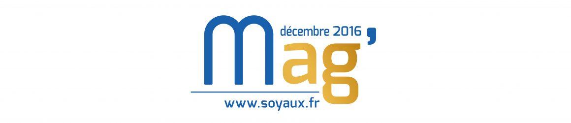 Soyaux Mag' décembre 2016
