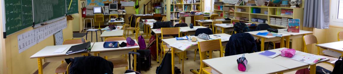 Un protocole sanitaire renforcé dans les écoles, collèges et lycées