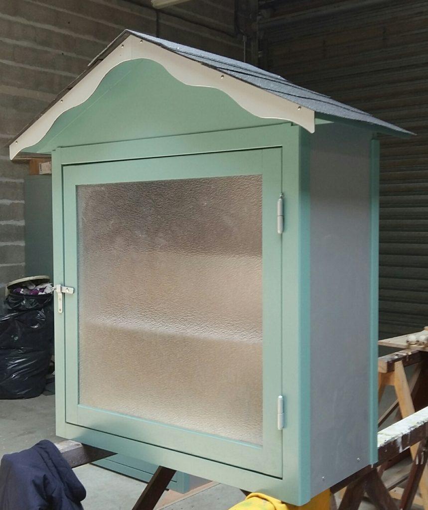 kiosque à livre, cabane de lecture