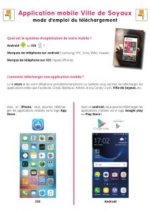 Mode d'emploi - Appli mobile - page 1 recto