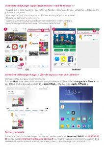 Mode d'emploi - Appli mobile - page 2 verso