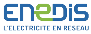 Logo Enedis - Travaux d'électricité