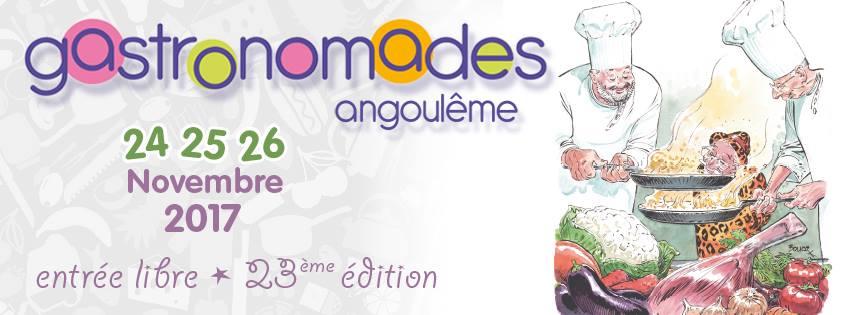 Gastronomades Angoulême novembre 2017