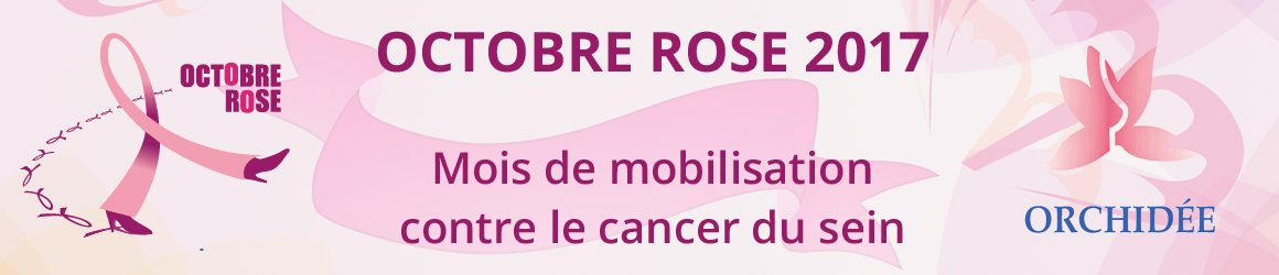 Cancer du sein : Octobre Rose 2017