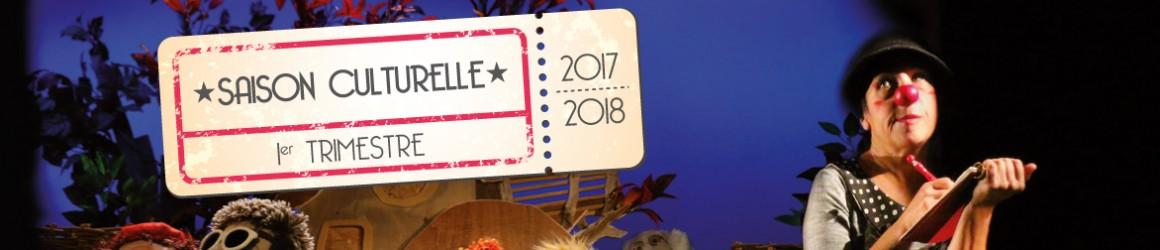 Programmation culturelle septembre à décembre 2017