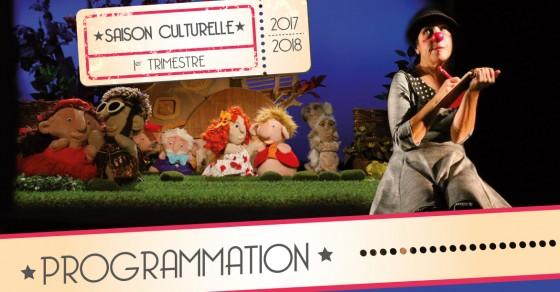 Programmation culturelle 2017 - 1er trimestre