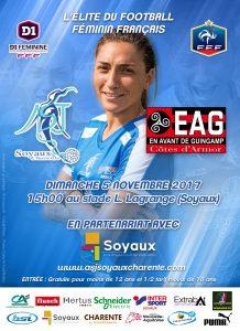 ASJ Soyaux vs En Avant de Guingamp - 5 novembre 2017