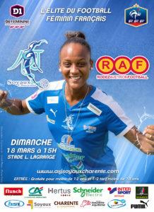 ASJ Soyaux Charente contre Rodez Ayron Football