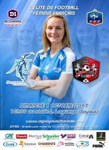 ASJ Soyaux vs FC Fleury 91 - 01 octobre 2017