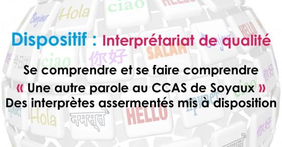 CCAS interprète Soyaux
