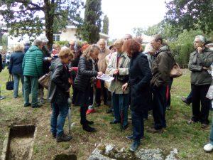 Visite guidée au cimetière du Pétureau à Soyaux