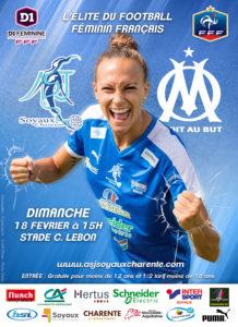 ASJ Soyaux vs Olympique Marseillais match du 18-02-2018 Stade Camille Lebon