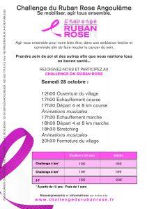 Lutte contre le cancer du sein - Challenge du Ruban Rose