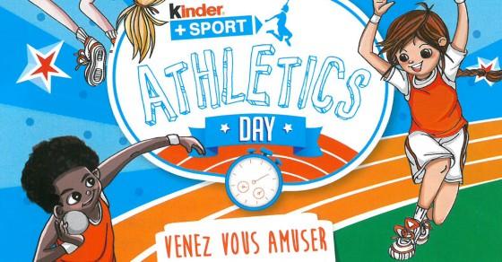 G2A Kinder Athlétic Day au stade Pierre Fournier à Soyaux
