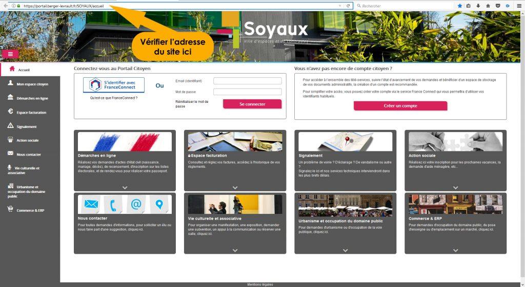 Portail Citoyen : acte de naissance gratuit Soyaux