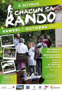A Soyaux Chacun sa Rando - 7 octobre 2017