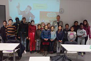 Conseil Municipal des Jeunes de Soyaux et le 1er RIMa