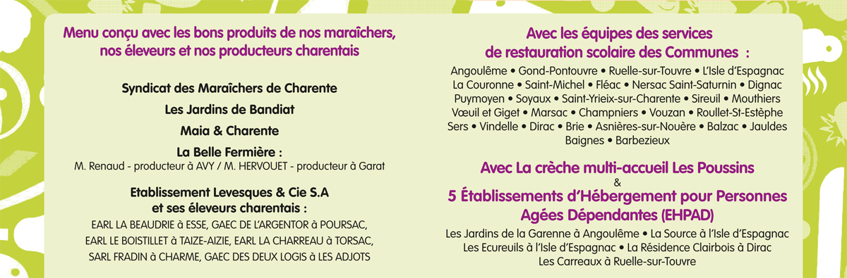 Gastronomades - produits maraichers