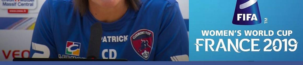 Corinne Diacre, l'entraineuse de l'équipe de France féminine