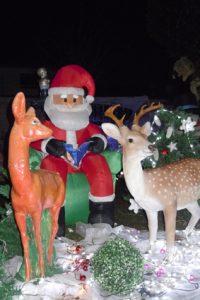 Illuminations de Noël à Soyaux pour Agathe et Paul