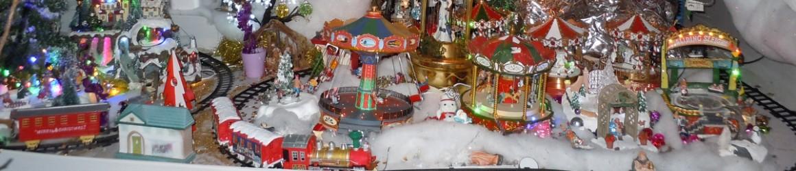 Illuminations de Noël pour Agathe et Paul