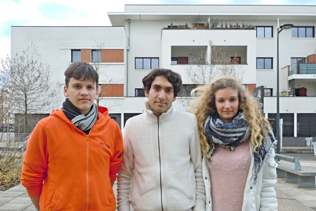 Service Civique d'Unis Cité à Soyaux - Ainuz Rougier, Solène Simonet et Léo Gazda