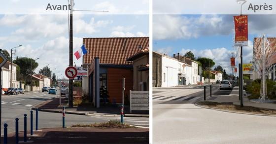 Travaux - Nouveau coeur de ville à Soyaux