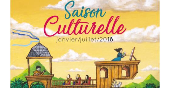 Saison Culturelle - Janvier à juillet 2018 - Soyaux