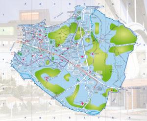 Travaux de voirie - Plan de la Ville de Soyaux