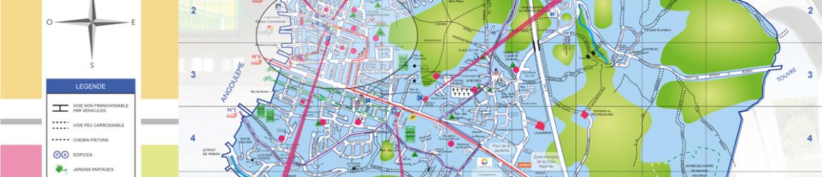 Nouveau plan de ville en ce début d'année 2018