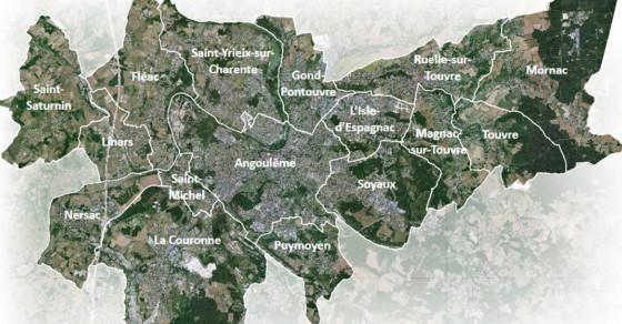 PLUi GrandAngoulême - Carte