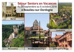Séjour Seniors en Vacances - Soyaux octobre 2018
