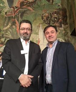 Villes Internet - Emmanuel EVENO, Président de Villes Internet et Frédéric CROS, 1er adjoint au Maire de Soyaux