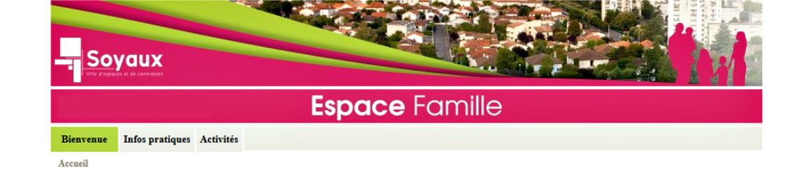 Espace Famille : mode d'emploi