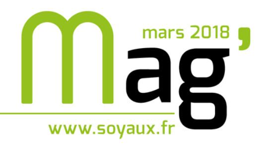 Soyaux Mag Mars 2018 - bandeau
