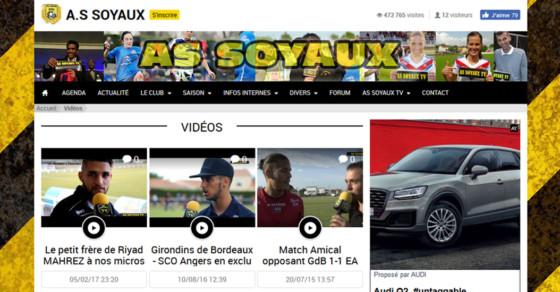 AS Soyaux TV - Vidéos Interviews