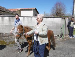 Equi-Seniors au Foyer Soleil avec le Moulin du Got