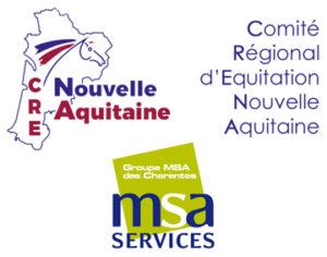 Equi-Seniors avec le Comité Régional Equitation Nouvelle Aquitaine et la MSA Charente