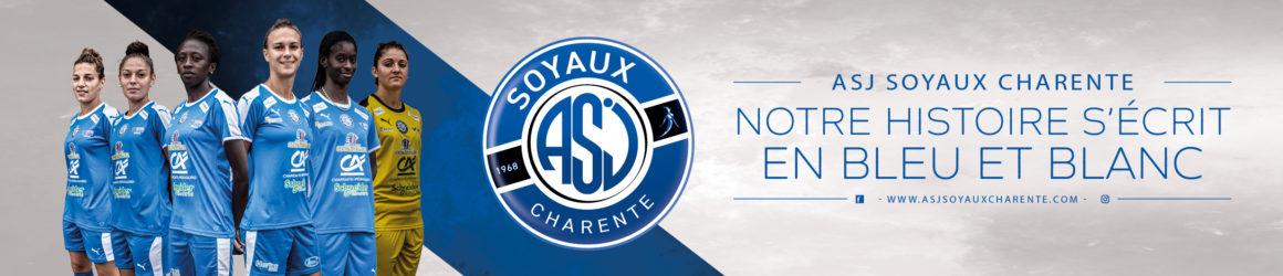 L'équipe féminine de football – ASJ Soyaux Charente
