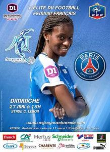 ASJ Soyaux Charente contre PSG - 27 mai 2018