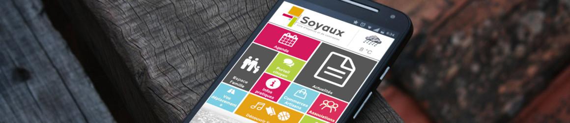 """Nouvelle version de l'appli """"Ville de Soyaux"""""""