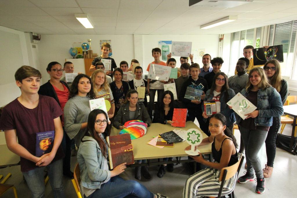 Récompense Collège Mendes France