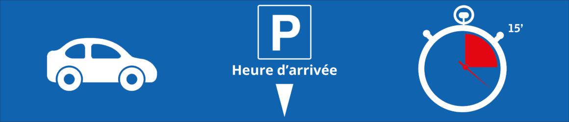 Stationnement et arrêts minutes : attention aux zones bleues !